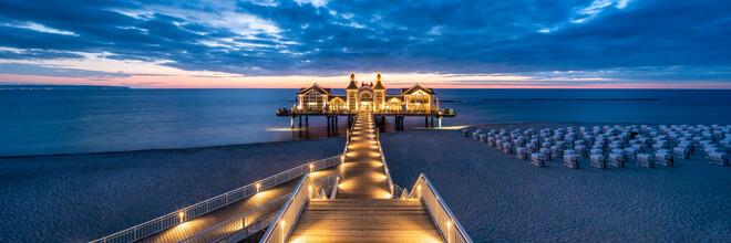 Jan Becke, Baltic resort Sellin on the island of Rügen (Germany, Europe)