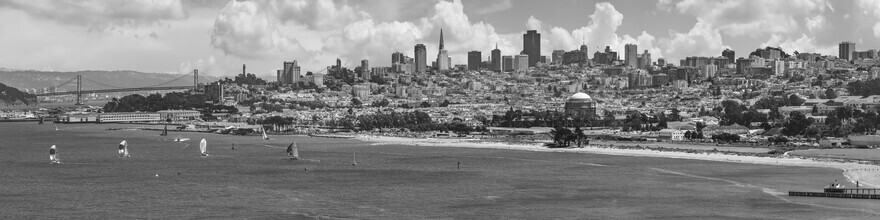 Melanie Viola, San Francisco Skyline | Monochrom (Vereinigte Staaten, Nordamerika)