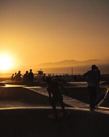 Ozgur Ergul, Sunset Skate at Venice (United States, North America)