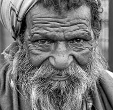 Gerhard Blücher, Beggar (India, Asia)