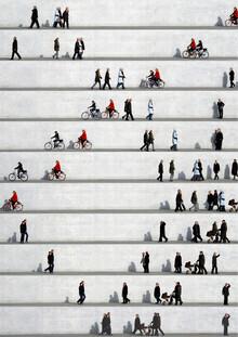 Eka Sharashidze, Wall People Detail No. 24 (Deutschland, Europa)