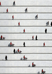 Eka Sharashidze, Wall People Detail No. 23 (Germany, Europe)