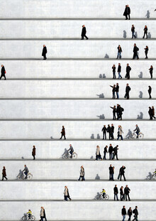 Eka Sharashidze, Wall People Detail No. 22 (Deutschland, Europa)