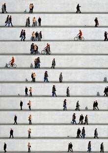 Eka Sharashidze, Wall People Detail No. 15 (Germany, Europe)
