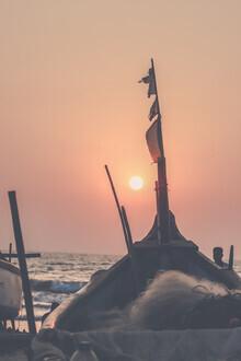 Victoria Frost, Beach Sunset (Indien, Asien)