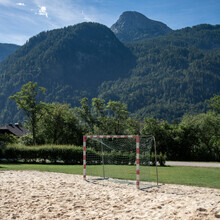 Franz Sussbauer, Sand, Wald und Dachstein (Österreich, Europa)