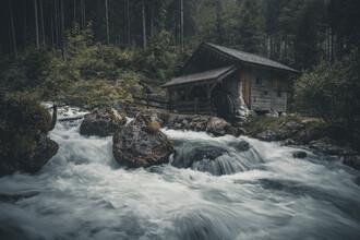 Franz Sussbauer, Mill at the creek II (Austria, Europe)