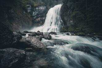 Franz Sussbauer, Gollinger waterfall I (Austria, Europe)
