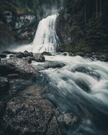 Franz Sussbauer, Gollinger waterfall II (Austria, Europe)