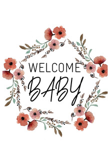 Christina Wolff, Kinderbild Welcome Baby Blumenkranz (Germany, Europe)