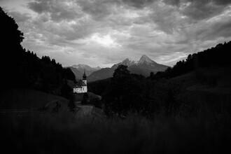 Max Saeling, Watzmann in Sicht (Deutschland, Europa)