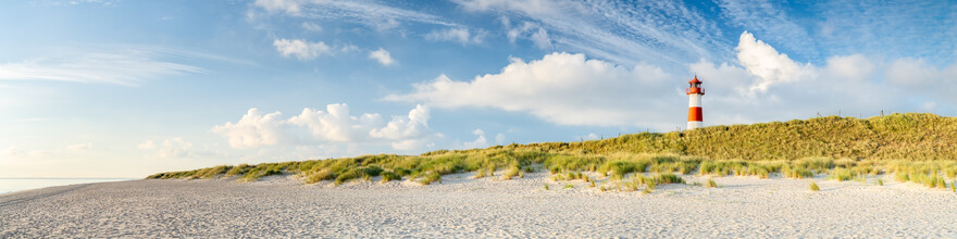 Jan Becke, Leuchtturm List Ost an der Nordseeküste von Sylt (Deutschland, Europa)