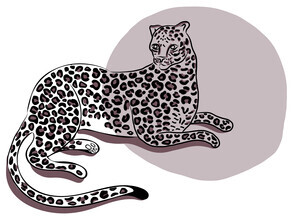 Genna Campton, Purple Leopard (Canada, North America)