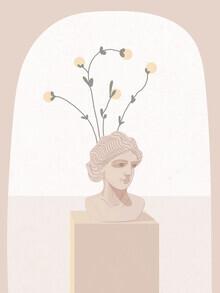 Genna Campton, Bust Vase (Canada, North America)