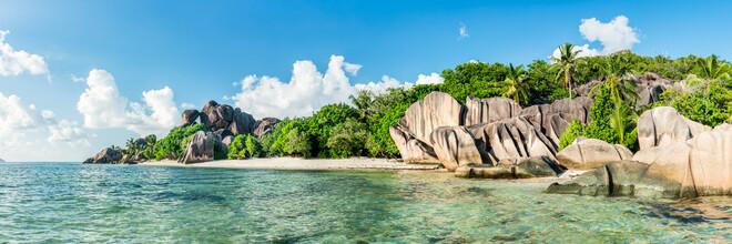 Jan Becke, Der Strand Anse Source d'Argent auf den Seychellen (Seychellen, Afrika)