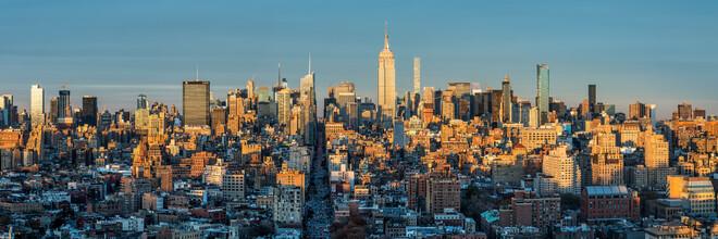 Jan Becke, Manhattan skyline at sunset (United States, North America)