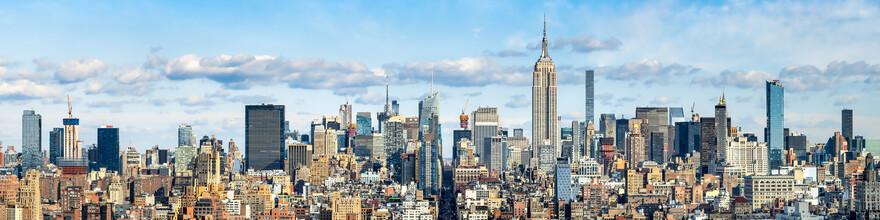 Jan Becke, New York City Skyline im Winter (Vereinigte Staaten, Nordamerika)