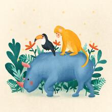 The Artcircle, Jungle gang by Monika Szczerbinska (Poland, Europe)