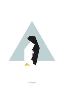 Anna Maria Laddomada, Penguin | Antarctica Series | Origamia Design (Antarctica, Europe)