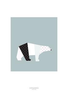 Anna Maria Laddomada, Polar Bear | Arctic | Origamia design (Greenland, Europe)