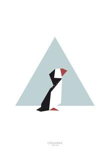 Anna Maria Laddomada, Puffin   Arctic Series   Origamia Design (Iceland, Europe)