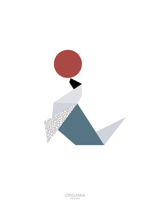 Anna Maria Laddomada, Seal   Arctic Series   Origamia Design (Greenland, Europe)