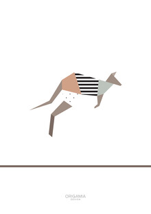Anna Maria Laddomada, Kangaroo | Australia Series | Origamia Design (Australia, Oceania)