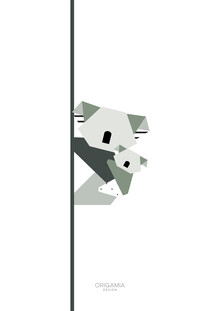 Anna Maria Laddomada, Koala | Australia Series | Origamia Design (Australien, Australien und Ozeanien)