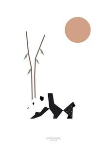 Anna Maria Laddomada, Panda | Asia Series | Origamia Design (China, Asien)