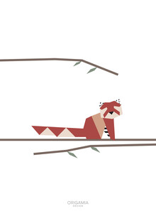 Anna Maria Laddomada, Red Panda | Asia Series | Origamia Design (China, Asia)