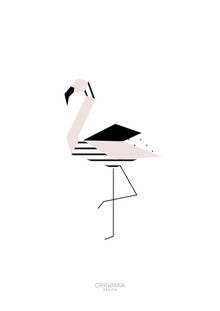 Anna Maria Laddomada, Flamingo   Birds Series   Origamia Design (Kenya, Africa)