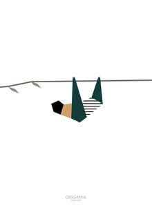 Anna Maria Laddomada, Sloth | Latin America Series | Origamia Design (Venezuela, Latin America and Caribbean)
