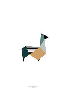 Anna Maria Laddomada, Llama   Latin America Series   Origamia Design (Peru, Latin America and Caribbean)