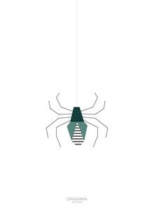 Anna Maria Laddomada, Tarantula | Latin America Series | Origamia Design (Mexico, Latin America and Caribbean)