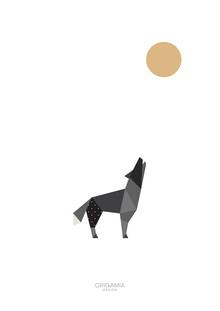 Anna Maria Laddomada, Wolf   Forest Series   Origamia Design (Italy, Europe)