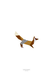 Anna Maria Laddomada, Fox | Forest Series | Origamia Design (Italy, Europe)