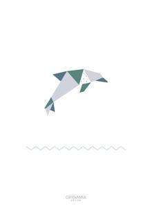 Anna Maria Laddomada, Dolphin | Sea Series | Origamia Design (Cuba, Latin America and Caribbean)
