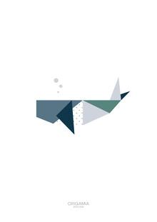 Anna Maria Laddomada, Whale | Sea Series | Origamia Design (Cuba, Latin America and Caribbean)