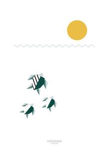 Anna Maria Laddomada, Sea Turtles | Sea Series | Origamia Design (Cuba, Latin America and Caribbean)
