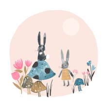 The Artcircle, Bunnies von Lisa Dolson (Großbritannien, Europa)