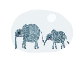 The Artcircle, Elephants von Lisa Dolson (Großbritannien, Europa)