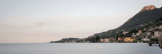 Dennis Wehrmann, Panorama Lago di Garda - Gargnano (Italien, Europa)