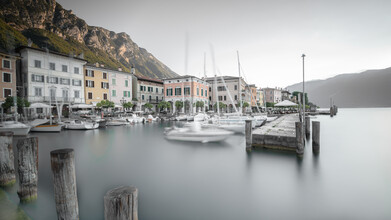 Dennis Wehrmann, Hafen Gargnano - Lago di Garda (Italien, Europa)