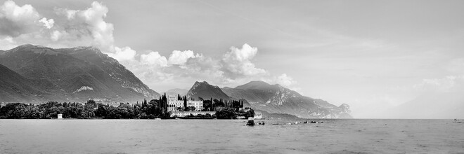 Dennis Wehrmann, Panorama Giardino dell'Isola del Garda - lago di Garda (Italien, Europa)