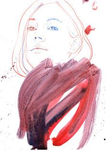 Sabine Israel, Fashion Portrait (Germany, Europe)