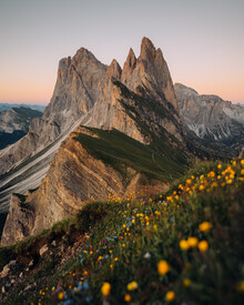 André Alexander, Seceda bei Sonnenuntergang (Italien, Europa)