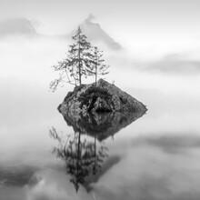 Christian Janik, Fog on Lake Hintersee (Germany, Europe)
