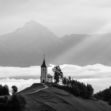 Christian Janik, Kirche der Hl. Primus und Felicianus, Jamnik (Slowenien, Europa)