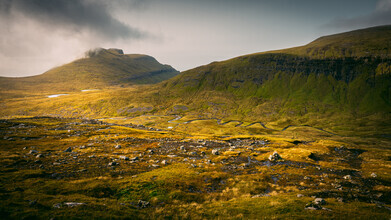 Eva Stadler, High valley on the Faroese island Streymoy (Faroe Islands, Europe)