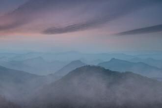AJ Schokora, Blue Hour in Moganshan (China, Asia)